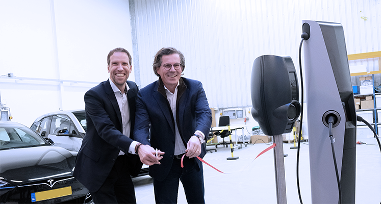 EVBox opent Lab Space