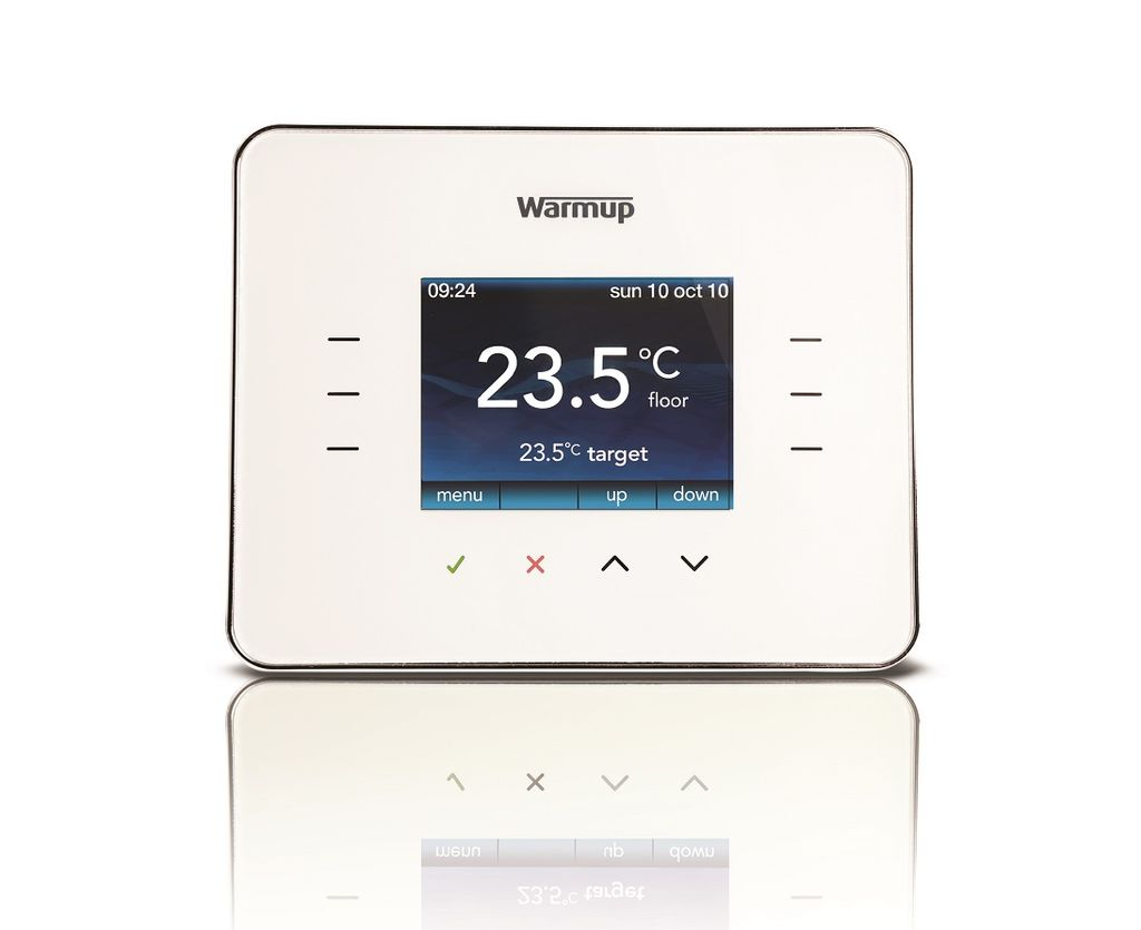 vloerverwarming thermostaat