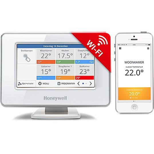 Evohome Wi-Fi slimme thermostaat 4-zones set (opentherm)