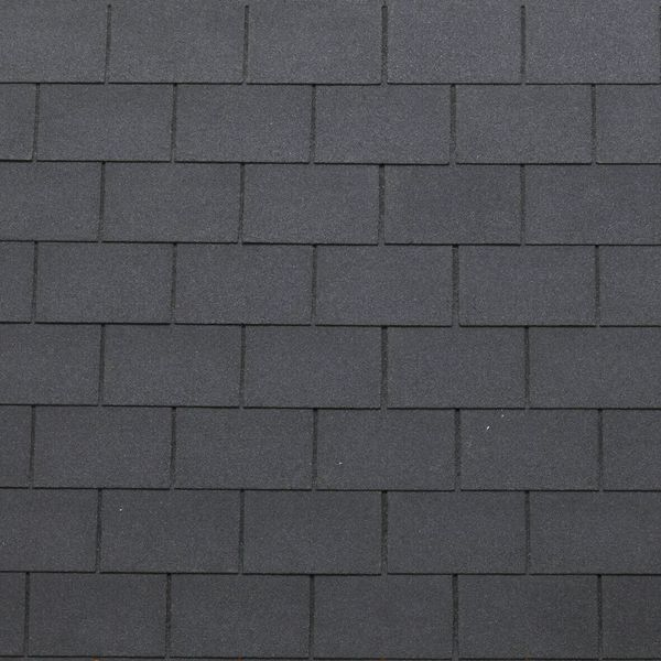 Shingle 3-tab Roof Color Eco black pak ad 3,05 m2
