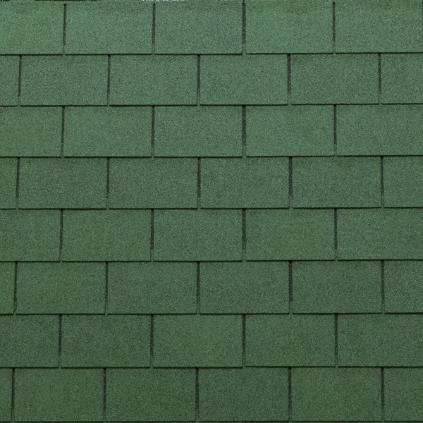 Shingle 3-tab Roof Color Eco mixed green pak ad 3,05 m2