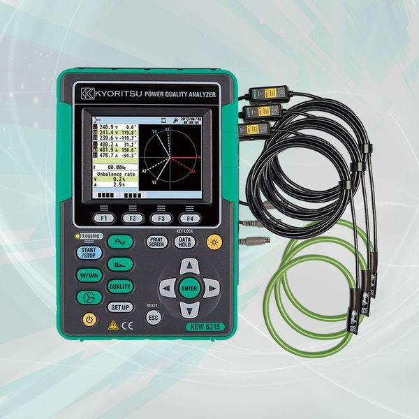 Kyoritsu 6315-03 Power Quality Analyzer