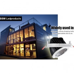 LED spots inbouw-opbouw, LED railspots