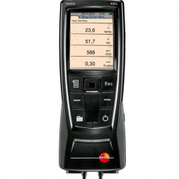 Testo 480 - high-end klimaat meetinstrument