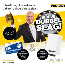 Installeren is dubbel profiteren!