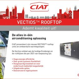Vectios Rooftop: De alles in-één airconditioning oplossing