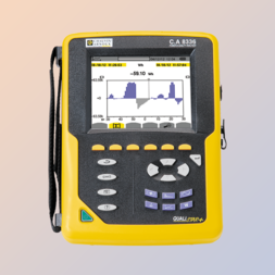 1- en 3-fasen Power Quality analyzer