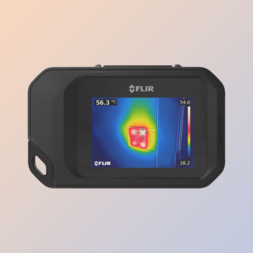 Compacte thermografische camera met WiFi communicatie