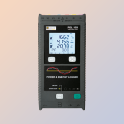 Power Energy Logger met LCD display PEL 103