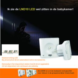 LND10 LED noodverlichtingsmodule modulair